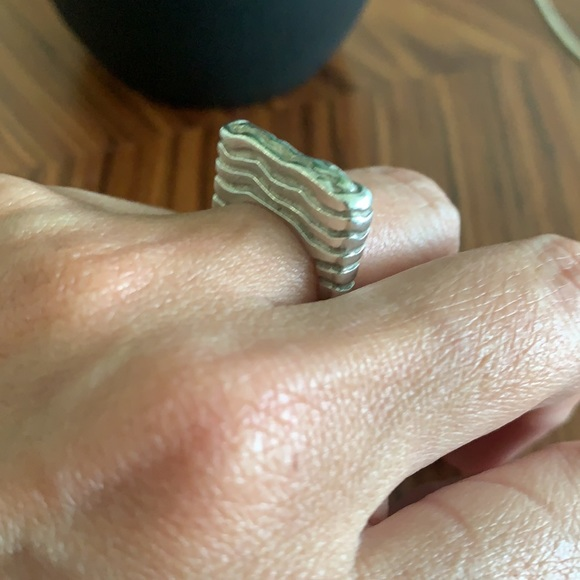 90's Vintage 925 sterling silver ring